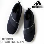 アディダス adidas レディース スニーカー CF アディファイン ADPT DB1339 ブラック/ホワイト