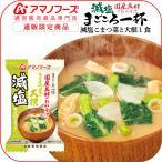 アマノフーズ フリーズドライ 味噌汁 減塩 まごころ一杯 小松菜 大根 1食 即席みそ汁 インスタント味噌汁 減塩食品 汁物