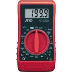 A&D 汎用コンパクト型テスター デジタルマルチメーター AD5526