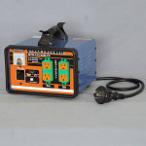 日動 変圧器 降圧専用セットコンセントトラパック アース過負荷漏電しゃ断器付