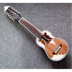〔CHARANGO PRO QUISPE〕民族楽器、ボリビア製 キスペ制作のチャランゴ プロ用 ソフトケース付