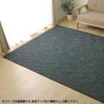 バンブー 竹 ラグカーペット 『DXフォース』 ブラック 約95×150cm 5370220