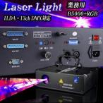 13チャンネルILDA/DMX対応!業務用レーザー照明機器【B5000+RGB】