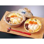 冷凍具雑煮2食、【三川内焼】唐子絵 土鍋1個セット