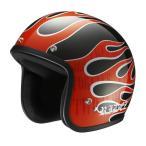 ライズ(RIDEZ) ジェットヘルメット LX フレーム メタリック ブラック 61-62cm