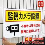 送料無料 激安看板 監視カメラ設置 看板 立ち入り禁止 駐車場 不審者