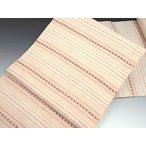 工芸会 染織作家 吉村美代子 作 手織り紬 九寸 名古屋帯