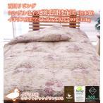 ショッピング西川 西川リビング シングルサイズ 羽毛掛け布団(日本製)イギリス産ホワイトダックダウン90% 1.2kg