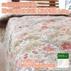 京都西川 ダブルサイズ 羽毛肌掛け布団(日本製) 0.5kg ハンガリー産ホワイトダウン90%