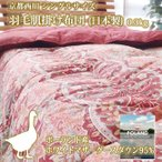 京都西川 シングルサイズ 羽毛肌掛け布団 (日本製) 0.3kg ポーランド産ホワイトマザーグースダウン95%