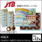 ショッピングハワイ ハワイ お土産 Holly K(ホリーケー) アロハギャラリー マカダミアナッツチョコ(レインボーハレ)9粒入12箱セット チョコレート お歳暮