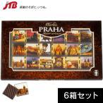 チェコ お土産 プラハ 風景チョコ6箱セット|チョコレート ヨーロッパ 食品 チェコ土産 お菓子 n0508