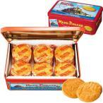 フランス お土産 la mere poulard(ラ・メールプラール) ラ・メール・プラール 缶入りガレットクッキー1缶 クッキー