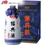 中国 お土産 越王台 陳年白磁花彫酒12年1本|紹興酒