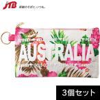 オーストラリア お土産 オーストラリア フラットポーチ3個セット|ポーチ・バッグ 雑貨 オーストラリア土産