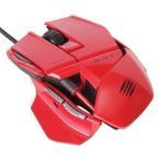 Windows8、Mac対応マウス / 多機能プレミアムマウスRAT3 レッド MC-R3-RD MadCatz / マッドキャッツ