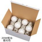 ショッピングLED LED電球 E26 20W形相当 全方向 密閉器具対応 昼光色 12個入 LDA2D-G AG22 12P 06-0696 オーム電機