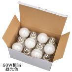 ショッピングLED LED電球 E26 60W形相当 全方向 密閉器具対応 昼光色 12個入 LDA7D-G AG22 12P 06-0700 オーム電機