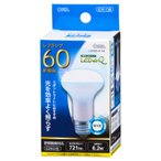 LED電球 レフランプ形 E26 60形相当 6W 昼光色 広角タイプ160° LDR6D-W A9 06-0772 OHM オーム電機