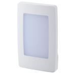 OHM ナイトライト LED 常夜灯 フットライト 足元灯 薄型 ホワイト NIT-ALA6ML-WL オーム電機 07-8416