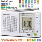 OHM ポータブルラジオ 短波放送対応 RAD-P750Z