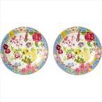 ジアン ミルフルール ペアデザートプレート  1643B6AB/2 GIEN デザート皿 2枚セット  (17s0181-090)