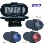 タニタ 歩数計 PD-641ブラック/ブルー/レッド TANITA シンプル 万歩計