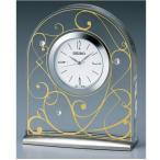 セイコー レスポワール置時計  (アラベスク) UF521G アラベスク模様をあしらったモダンな置時計