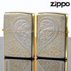 ZIPPOペア#200 #200 セレブレティーアラベスク SAPR-SGP SGミラー ジッポーライター