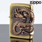 ZIPPO#200 龍サイドメタル 真鍮古美 ds-bs (10020055) ジッポーライター