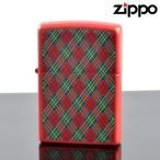 ZIPPO#200 CHECK&CHECK フルカラープリント ラッカーレッドマット ch-mr (10020080) ジッポーライター