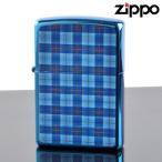 ZIPPO#200 CHECK&CHECK フルカラープリント イオンブルー ch-ib (10020079) ジッポーライター