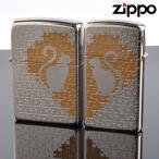 fukashiro ZIPPO ジッポライター 1201s468 キャットパズルペア SV ニッケルパラジウム 色入れ エッチング
