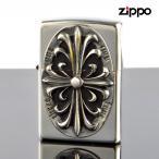 Zippo ジッポライター 2sim-crozs Metal メタル クロス