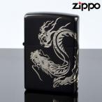 Zippo ジッポライター zp623962 ドラゴンソウル ブラック&シルバー