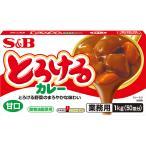 とろけるカレー甘口1kg S&B SB エスビー食品