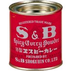 カレー粉 37g エスビー赤缶カレー粉 SB S&B