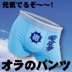 ギャリック ボクサーパンツ おもしろ 雑貨 パロディ グッズ ブルー