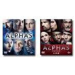 ALPHAS/アルファズ シーズン1&2 バリューパック セット 【DVD】