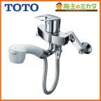 TOTO キッチン用水栓金具 TKGG36EZ■ GGシリーズ シングルレバー混合水栓 壁付タイプ ハンドルシャワータイプ 寒冷地用