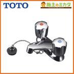ショッピングTOTO TOTO 洗面所用水栓 TL306R4GUR■ 2ハンドル混合水栓 センターセットタイプ