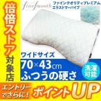 ショッピング西川 東京西川 ファインクオリティプレミアム エラストマーパイプ枕 ふつうの硬さ ワイドサイズ 70×43cm FA6020 EFA2681213