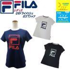フィラ FILA レディース メッシュ ビッグロゴ 半袖 Tシャツ 417-927