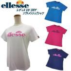 エレッセ ellesse レディース ソフトメッシュ 半袖 Tシャツ EW17161E