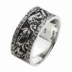 シルバーリング 指輪 メンズ 龍 竜 ドラゴンリング シルバー925 シルバーアクセサリー