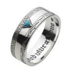 シルバーリング ターコイズ 指輪 メンズ ネイティブ インディアンジュエリー