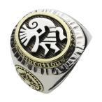 シルバーリング メンズ 指輪 ネイティブアクセ ココペリ インディアン シルバー925