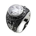 カレッジリング シルバーアクセサリー メンズ 指輪 シルバーリング
