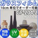 ガラスフィルム サンゲツ 透明フィルム GF-204-2  122cm巾 GF-204-2/GF204-2/