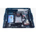 ボッシュ 18V 6.0Ah インパクトドライバー GDR18V-EC6 (6.0Ahバッテリー2個、充電器、キャリングケースL-BOXX136付)